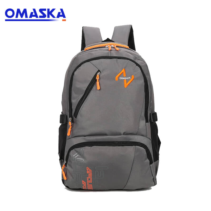 Factory directly School Bags 2018 – New arrivals high quality custom made brand low price backpack manufacturer – Omaska