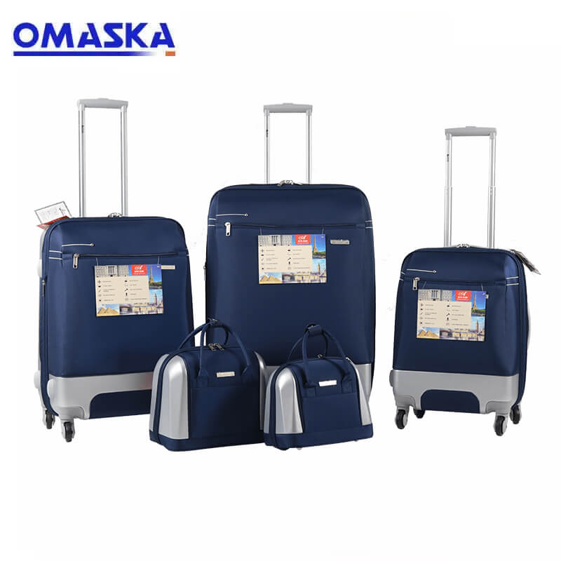 OMASKA 2021 factory 5PCS luggage set wholesale suitcase nice quality hot selling OEM ODM abs travel luggage Featured Image