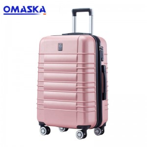 OMASKA 2020 factory wholesale competitive ABS suitcase 20″ China Abs/Pc Luggage