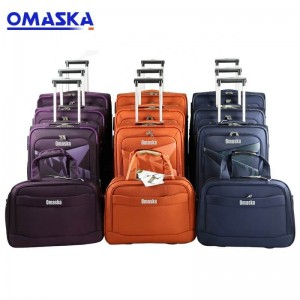 China professional travelling box luggage directly wholesale customize luggage sets 4 pieces manufactures