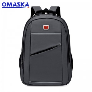 Online Canton Fair Custom nylon business men leisure laptop  backpack