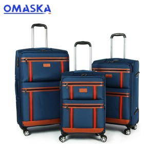 cheap 4 wheel luggage sets