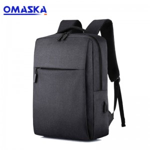 Short Lead Time for Mala De Viagem - Trends 2019 OEM ODM Custom Mens Women Durable USB Charging Waterproof Business Laptop Backpack – Omaska