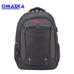 2020 Canton Fair OMASKA high quality large capacity USB charging port laptop backpack bags