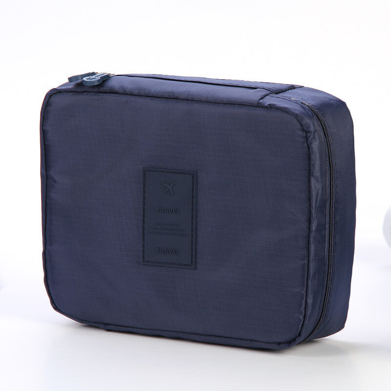 Korean version of the large-capacity second-generation wash bag cosmetic bag portable storage bag multi-function travel storage pouch