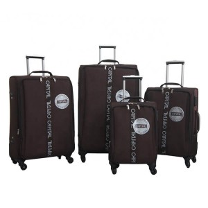 Soft Eva Luggage Omaska Brand Aluminum Trolley Spinner Wheel China Manufacture Travel Luggage Bags