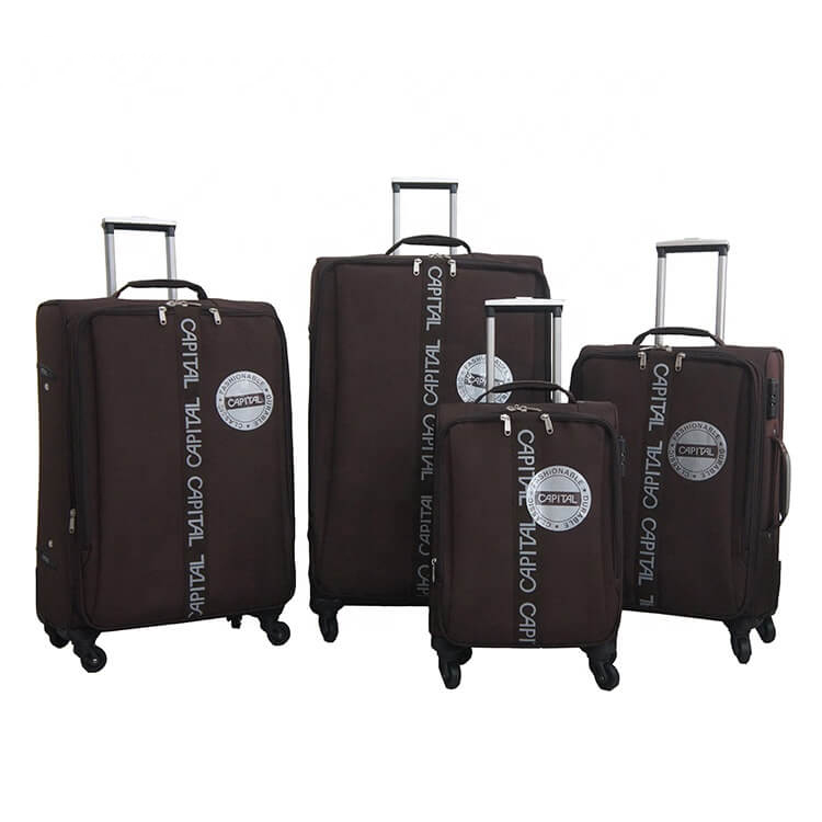 Soft Eva Luggage Omaska Brand Aluminum Trolley Spinner Wheel China Manufacture Travel Luggage Bags Featured Image