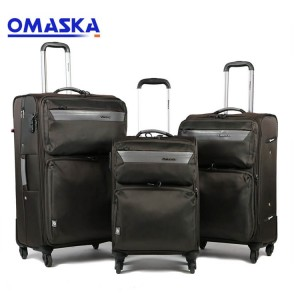 Manufacturer for Suitcase Set - 2020 OMASKA 3pcs set 20″24″28″ nice quality soft Travel Luggage Suitcases – Omaska