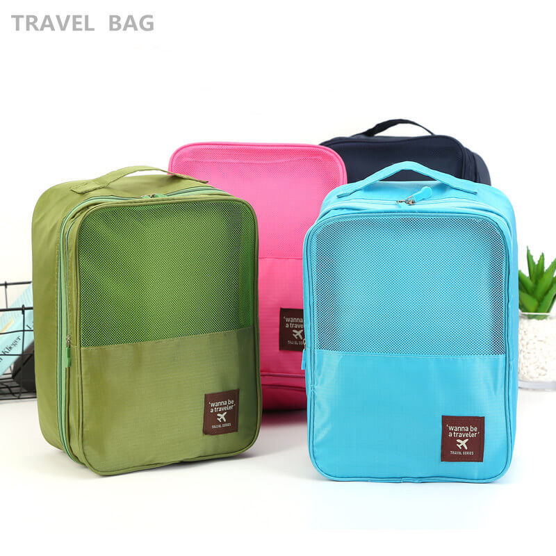 New Korean travel storage bag footwear sorting bag storage bag shoe bag 3 shoe position Featured Image