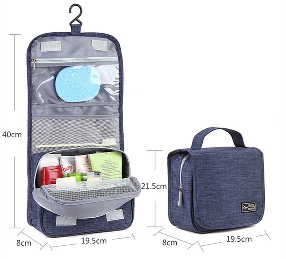 New waterproof hook wash bag Korean version of storage bag cationic wash cosmetic bag Featured Image
