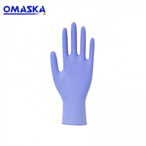 Disposable durable nitrile gloves