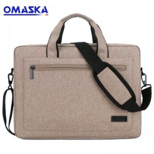 OMASKA factory most popular wholesale business fashion notebook custom brand computer laptop bag trendy