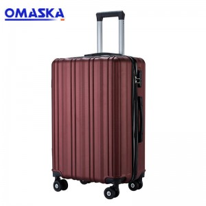 OMASKA 2020 LUGGAGE FACTORY NEW Abs Luggage Set...