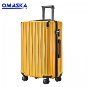Discountable price Guangzhou Luggage - OMASKA 2020 NEW 2PCS SET 20″24″ Pc Luggage Factories – Omaska