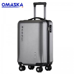 OMASKA 2020 new customs logo travelling Wholesale Abs/Pc Luggage Factories