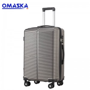 Manufacturers wholesale new 20 24 inch trolley case male and female students travel wear-resistant 2019 Abs Luggage Supplier