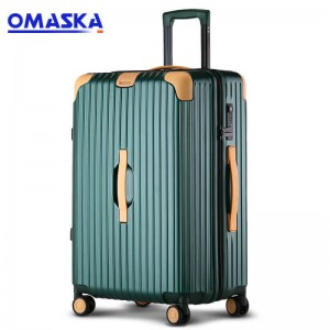 OMASKA 2020 New Business Travel Case Anti-collision Classis 20 Inch 24 Inch Abs/Pc Luggage Factories