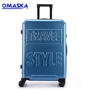 20 inch 24 inch student men and women ins box luggage trolley case zipper boarding case Luggage Set Factories
