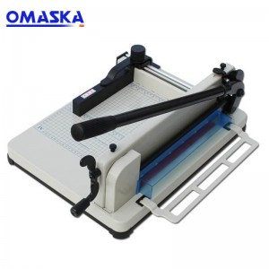 858A4 heavy-duty manual cutter can cut 4 cm 400 sheets thickened thick layer paper cutter paper cutter paper cutter