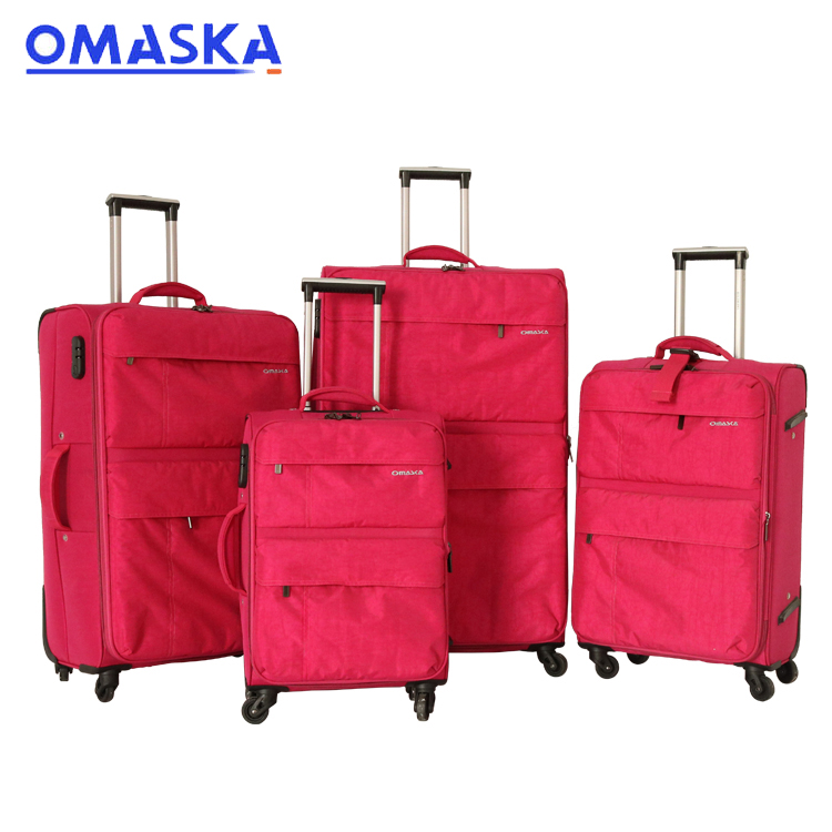 PriceList for Can Ride Smart Suitcase - Expandable Double Zipper Trolley Luggage Travel Bag – Omaska