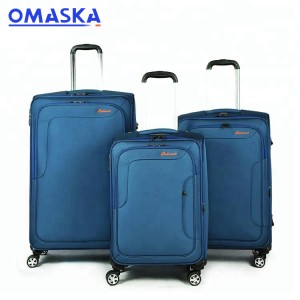 Soft sided carry on luggage with wheels