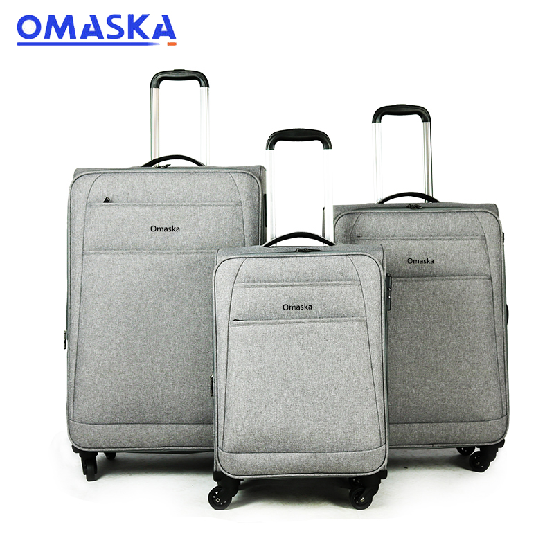 Hot New Products Custom Suitcase - Trolley Luggage Wheeled Bag – Omaska