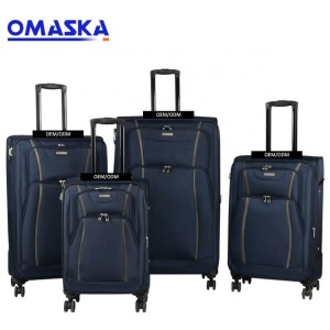 Trolley suitcase OMASKA 7080B 20 24 28 32 inch 4 PCS set spinner wheel custom logo