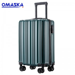 Best quality Abs Luggage - 2020 OMASKA luggage bag factory new model 20″ promotional gift Abs/Pc Luggage Supplier – Omaska