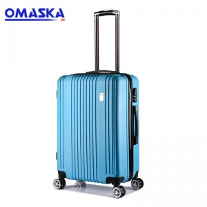 OMASKA 2020 factory new ABS luggage wholesale Custom Hard Shell Luggage