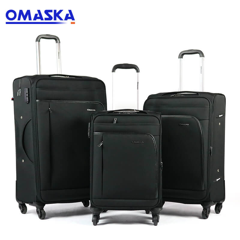 2019 High quality Removable Wheels - 2020 OMASKA new 3pcs set soft luggage sets custom suitcase – Omaska Featured Image