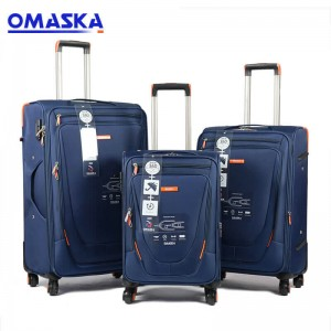 Wholesale Dealers of Cheap Teenage Girl School Bags - 2020 OMASKA new design factory wholesale suitcase China 3pcs Set Luggage – Omaska