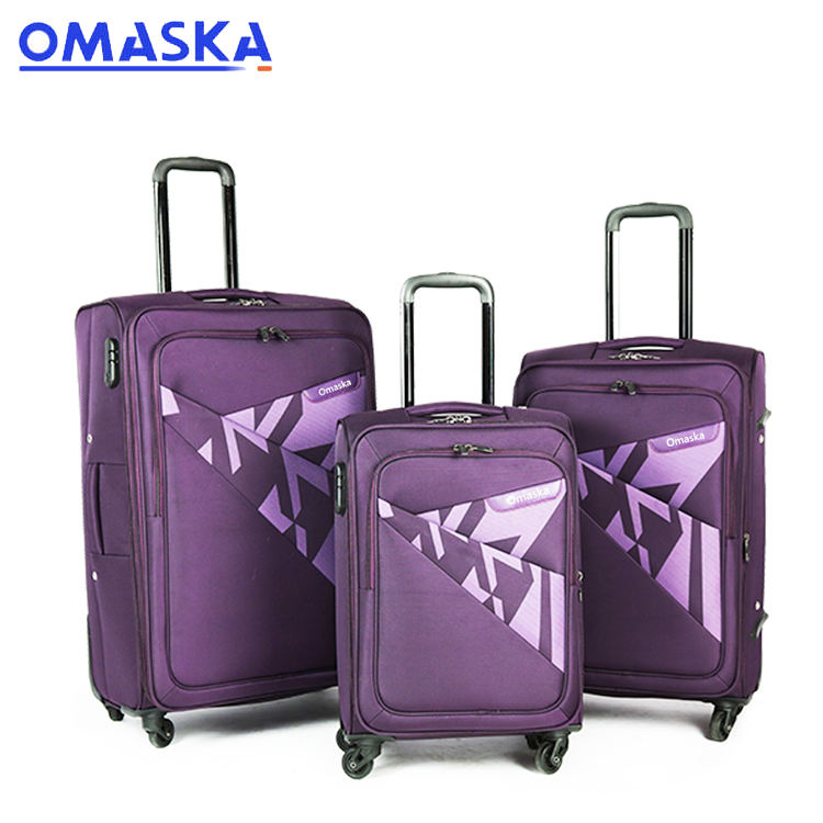 OEM Manufacturer Tour Guide Suitcase - High quality business luggage – Omaska