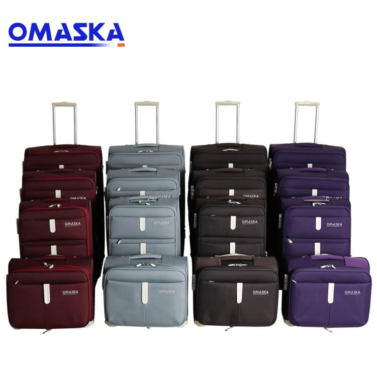 Factory Supply Mala De Viagem Set - 4pcs set 13″ 20″24″28″ luggage factory personalize logo wholesale hot selling custom made luggage – Omaska