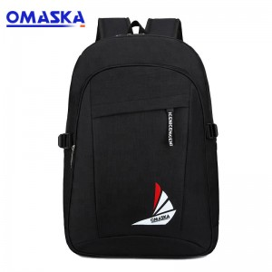 OMASKA 2019 Wholesale custom logo laptop computer business travel backpack for men