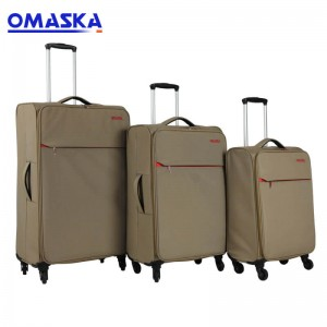 Low price for Cheap Suitcase - Omaska brand 3 pcs set 20″ 1.9KG 24″ 2.2KG 28″ 2.4KG super lightweight luggage suitcase – Omaska