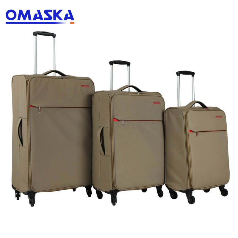 Factory Cheap Hot Wholesale Suitcases - Omaska brand 3 pcs set 20″ 1.9KG 24″ 2.2KG 28″ 2.4KG super lightweight luggage suitcase – Omaska