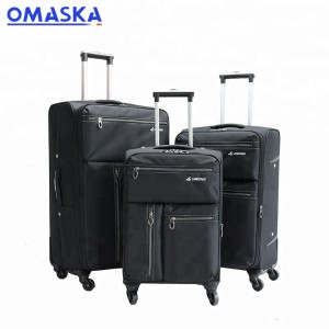 leisure style spinner wheel travel luggage set