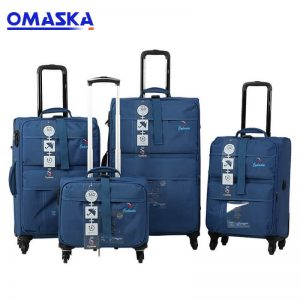 OMASKA brand China professional factory customized logo wholesaly nylon Luggage Case