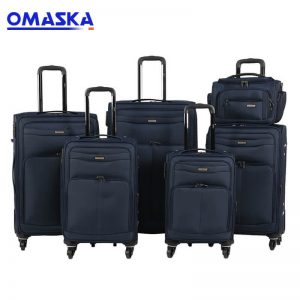 OMASKA China factory hot selling 7096# 6pcs set 14″handbag 18″20″23″25″28″ Luggage Bags