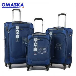 Factory wholesale Transparent Suitcase Covers - China Baigou OMASKA nice quality BSCI member Factory Wholesale Luggage – Omaska