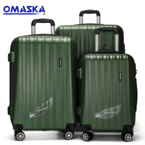 Cheap price 3 Piece Pc Abs Luggage Sets -