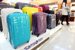 Where is samsonite luggage manufactured?