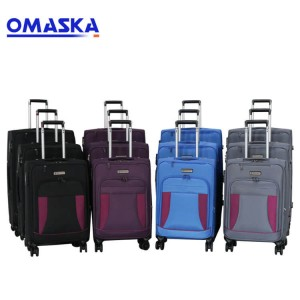 3pcs set 20″24″28″ luggage trolley set spinner wheel nice quality custom logo wholesale luggage sets