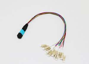 MPO/MTP Fan out 0.9mm Fiber Optic Patch Cords