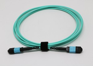 MPO/MTP Trunk Cable Fiber Optic Patch Cords 8 C...