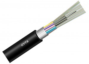 GYTA Outdoor Layer stranded aluminium armoured optical cable