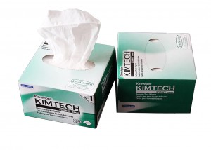 Fiber optic Kimwipes cleaning paper dust free cleaning wipes