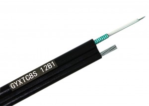 GYXTC8S Bundle-tube 8-shaped self-supporting optical cable