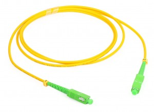 Customized Length Simplex SC Fiber Optic Patch Cord Sc Fiber Jumper