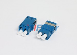 Network ODF LC Duplex fiber optic cable adapter  without Flange